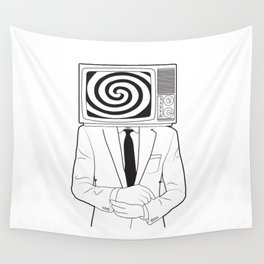 Mind Control Wall Tapestry