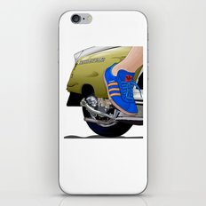 Kick off in style iPhone Skin