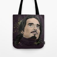 kevin russ Tote Bags featuring Kevin -BSB by Tish