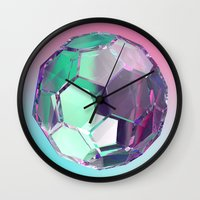 bucky Wall Clocks featuring Bucky I by manso