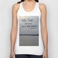 scripture Tank Tops featuring Hilton Head Island, Scripture by Stephanie Stonato