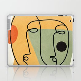 Abstract Faces 19 Laptop & iPad Skin