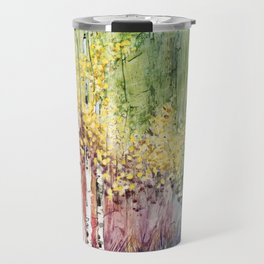 4 Season watercolor collection - summer Travel Mug