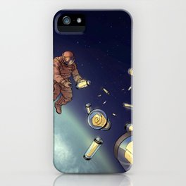 Messages from Space iPhone Case