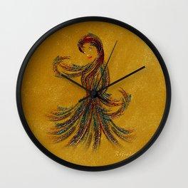 Dance of the Seven Veils Wall Clock