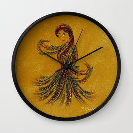 Dance of the Seven Veils Wall Clock