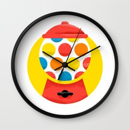 Gumballer Machine Wall Clock