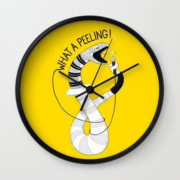 Snake singing Flashdance | Animal Karaoke | Illustration Wall Clock