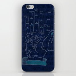 Manus Magus iPhone Skin