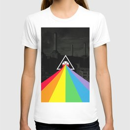 Floydian collage PinkFloyd T-shirt