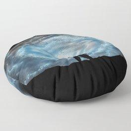 Alien Shores Floor Pillow