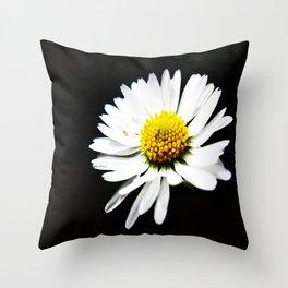One Daisy  Throw Pillow