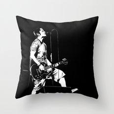 T. S. B/W Throw Pillow