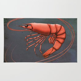 Shrimpy Shrimp Rug