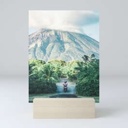 Volcano in Nicaragua - travel photography & landscapes Mini Art Print