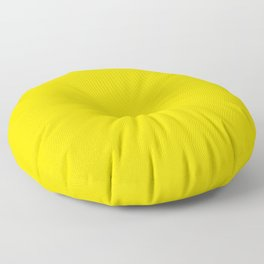 Sizzling Sunrise - solid color Floor Pillow