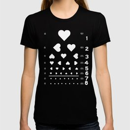 Can you see the love? T-shirt