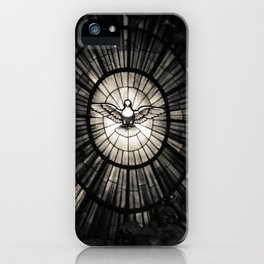 The Holy Spirit as a dove iPhone Case