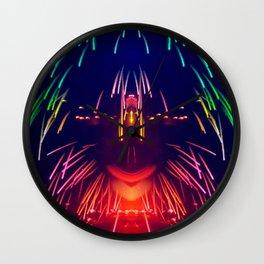 Sparkle Rain Wall Clock