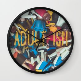 Adult-ish playtime Wall Clock