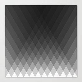 Minimalist triangles Canvas Print