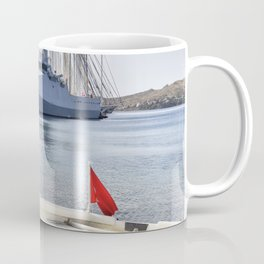 When I Grow Up I Want To Be A Warship Coffee Mug