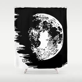 Miss Moon Shower Curtain