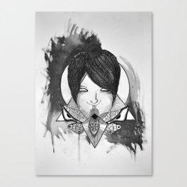 Shut Your Moth Canvas Print