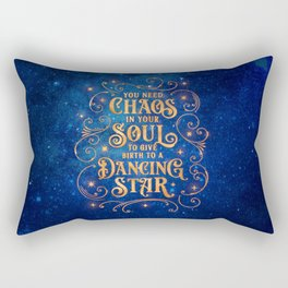 Dancing Star Rectangular Pillow