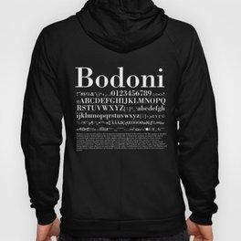 Bodoni (White) Hoody