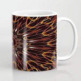 Brown Kaleidoscope Mandala Coffee Mug