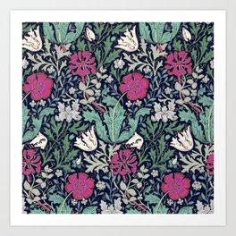 Poppies - William Morris Art Print