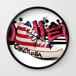 CoachellaFestival Wall Clock