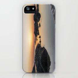 Spring Sunset at Plum Cove Beach iPhone Case