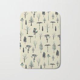 trpical trees Bath Mat