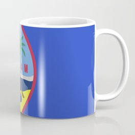 Guam flag emblem Coffee Mug