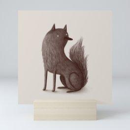 Wolfie Mini Art Print