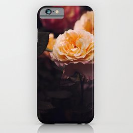 Bouquet Of Sunset Yellow orange Purple Flowers iPhone Case