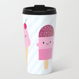 Summer Ice Cream Treats Travel Mug