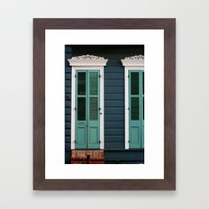 Creole Cottage Framed Art Print