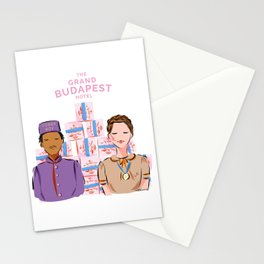 Zero and Agatha - Budapest movie Stationery Cards