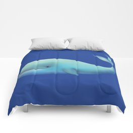 WHALE TOTEM Comforters
