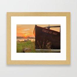 John's Cove at Sunrise Framed Art Print