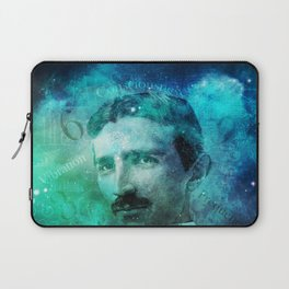 Tribute to Tesla Laptop Sleeve