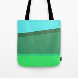 Green Field v1 Tote Bag