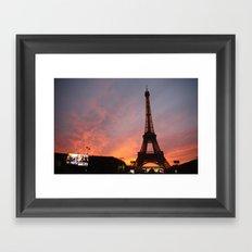 Mesmerized in Paris Framed Art Print