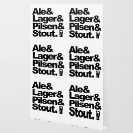 Ale and Lager and Pilsen and Stout Wallpaper