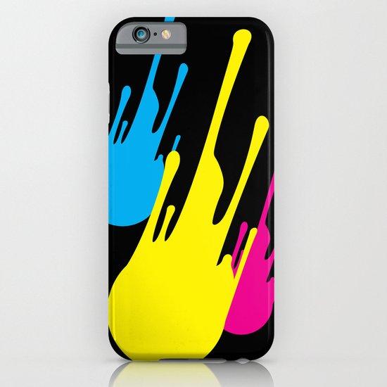 CMYKomet iPhone & iPod Case