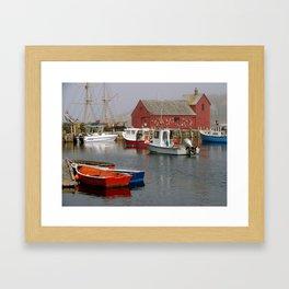 Pick a Boat Framed Art Print