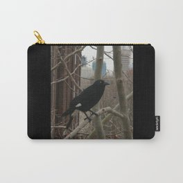 Pied Currawong DPG150611 Carry-All Pouch